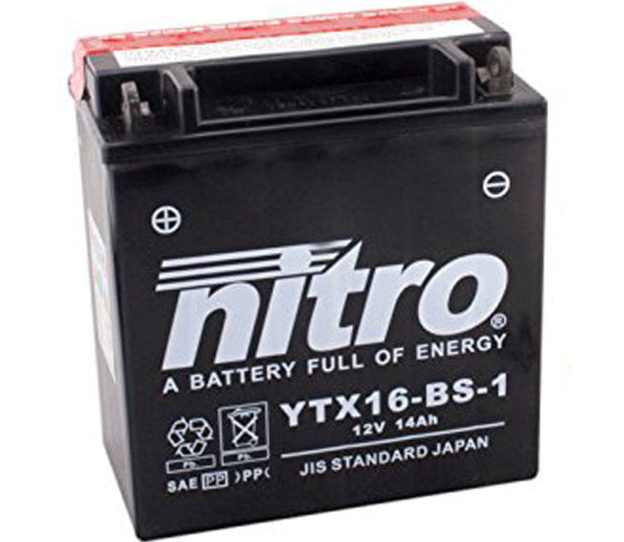 Nitro baterie YTX16-BS-1-N