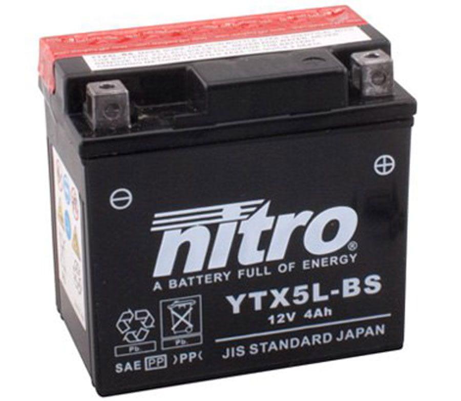 Nitro bateie YTX5L-BS-N
