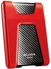 Adata HD650 2TB, červená (AHD650-2TU31-CRD)