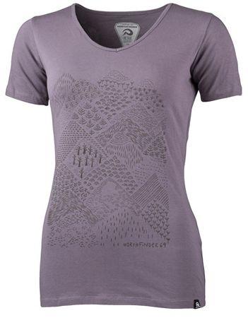 786537442284 Northfinder Dámske tričko Pamfilia Lila TR-4390OR (Veľkosť M)
