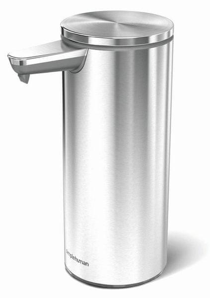 Simplehuman Bezdotykový dávkovač mýdla, kartáčovaná nerez ocel