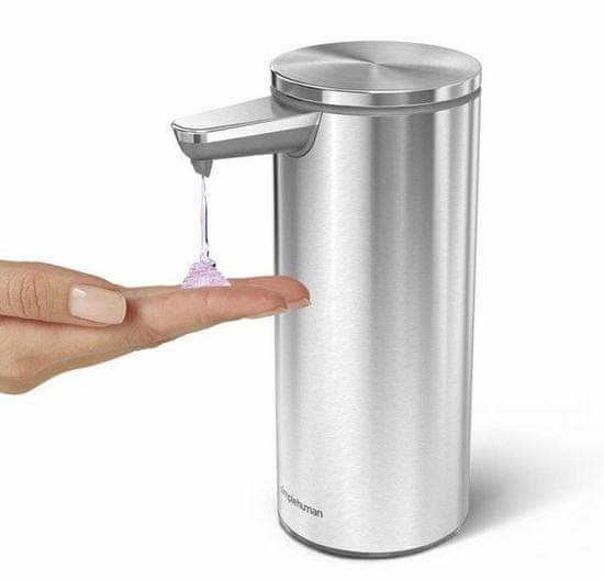 Simplehuman brezkontaktni dozirnik mila, brušeno nerjaveče jeklo