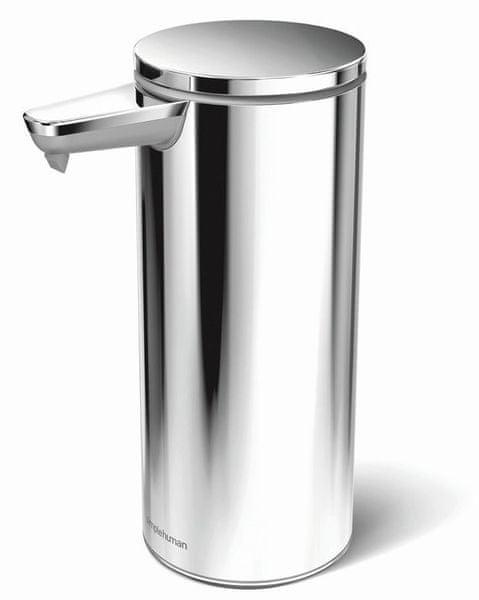 Simplehuman Bezdotykový dávkovač mýdla, leštěná nerez ocel