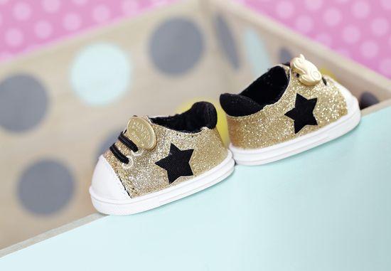 BABY born Sportcipő arany