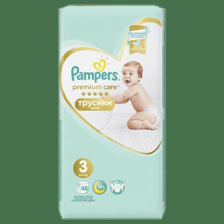 Pampers Pieluchomajtki Premium Care Pants 3 Midi - 48 szt