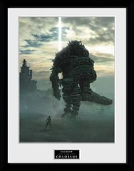 Zarámovaný plakát Shadow of the Colossus - Key Art