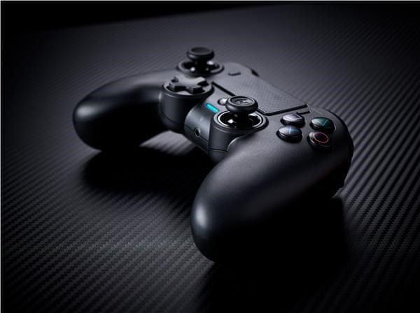 Nacon Asymmetric - PS4 (PS4OFPADWLBLACK) - rozbaleno