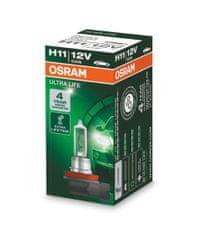 Osram Žárovka typ H11, 12V, 55W, ULTRA LIFE, Halogenové, krabička, 1ks
