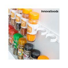 InnovaGoods ločljiv organizator začimb z lepilnim trakom