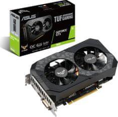 Asus GeForce TUF-GTX1660-O6G-GAMING, 6GB GDDR6 (90YV0CU2-M0NA00)