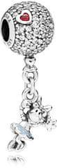 Pandora Disney Minnie ezüst gyöngy a léggömbön 797171EN ezüst 925/1000