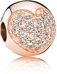Pandora Luxus Glitter Clip 781053GB ezüst 925/1000