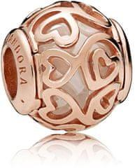 Pandora Luxus bronzgyöngy 787348CZ ezüst 925/1000