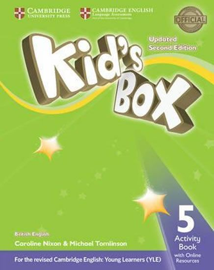 Nixon Caroline: Kid´s Box Level 5 Activity Book with Online Resources British English