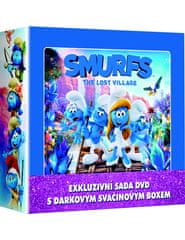 Šmoulové 1-3 LUNCH BOX (3DVD + svačinový box) - DVD