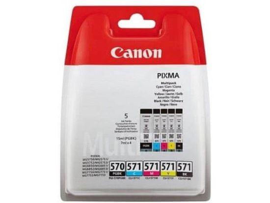 Canon komplet kartuš PGI-570 PGBK/CLI-571 C, M, Y, K