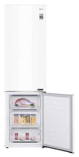 LG GBB62SWGFN + 10 let záruka na kompresor