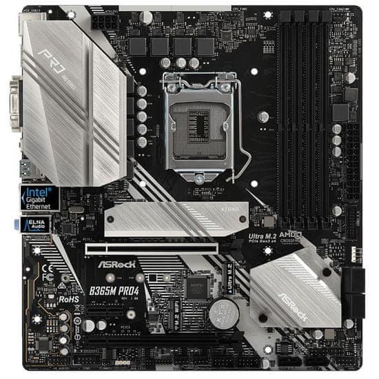 ASRock B365M Pro4, LGA1151, microATX, DDR4