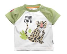 Gelati chlapčenské tričko Tropical, 62, biela/zelená