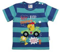 Gelati chlapčenské tričko Racer, 62, modrá