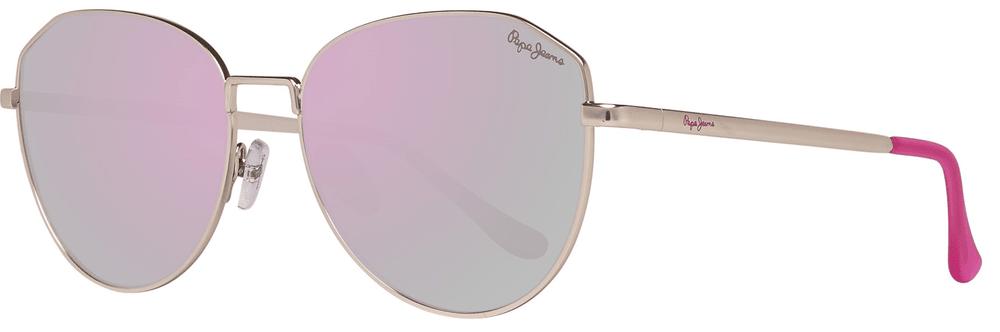 Pepe Jeans dámské zlaté sluneční brýle