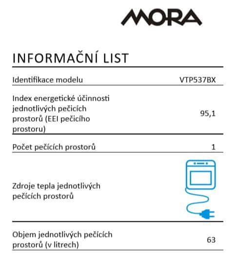 Mora VTP 537 BX