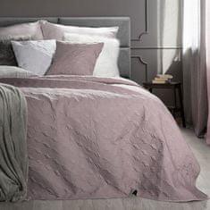 My Best Home Prikrývka na posteľ GISELA ružová 220 x 240 cm