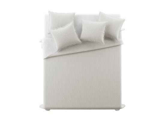 My Best Home Prikrývka na posteľ PERLA béžová 220 x 240 cm