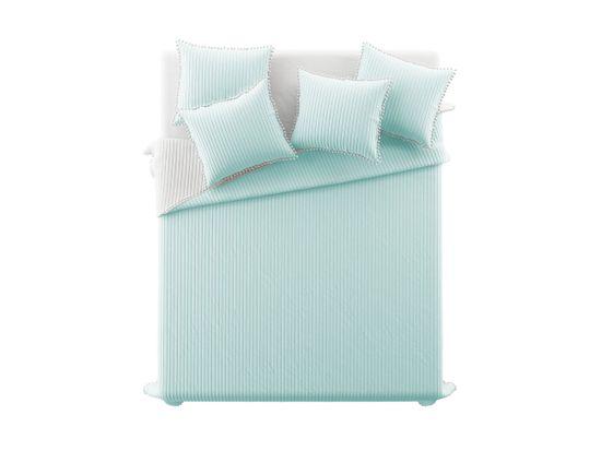My Best Home Prikrývka na posteľ PERLA mätová 220 x 240 cm