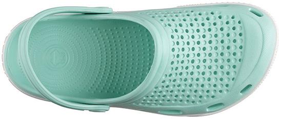 Coqui Dámské pantofle Lindo Lt.Mint/White 6413-100-4432