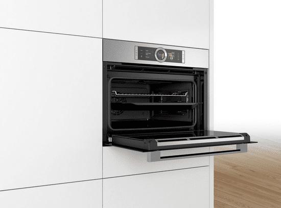 Bosch kombinirana kompaktna parna pećnica CSG656BS2