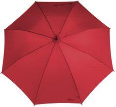 s.Oliver Holový vystřelovací deštník City Automatic - červený 71461SO1801