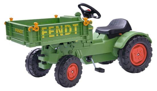 BIG traktor Fendt z przyczepą