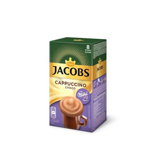 Jacobs Cappuccino Milka čokolada, 8x18 g