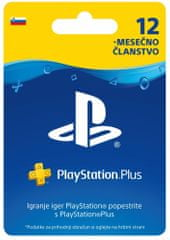 Sony Playstation PS+ kartica 12 mesecev SVN