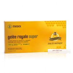 Medex fiole Gelée royale super + vitamin D 10 × 9 ml