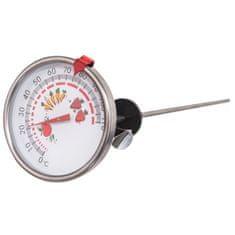Orion termometr kuchenny ze stali nierdzewnej 7,5 cm