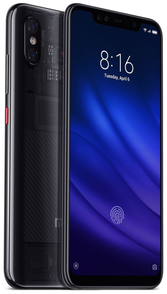 Xiaomi Mi 8 Pro, 8 GB / 128 GB, Global Version, Transparent Titanium