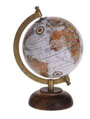 Koopman Otočný retro globus Ø 13 cm, typ č.2