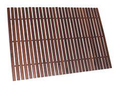 Koopman Prostírání bambus 43 x 29 cm tmavě hnědá