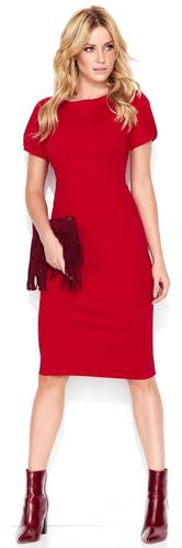 4c760e305a Makadamia damska sukienka 46 czerwona