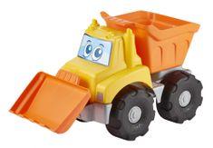 ECOIFFIER ciężarówka ze spychaczem
