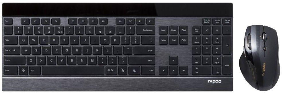 Rapoo 8900P, set klávesnice a myši