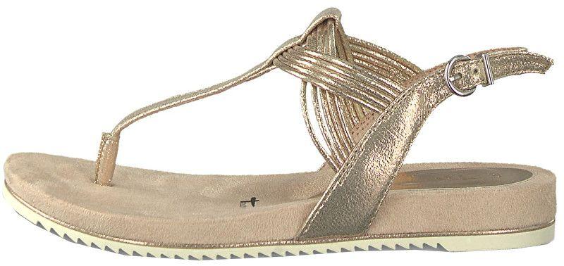 bd1923c886314 Tamaris Dámské sandále 1-1-28107-22-952 Rose Metallic (Velikost