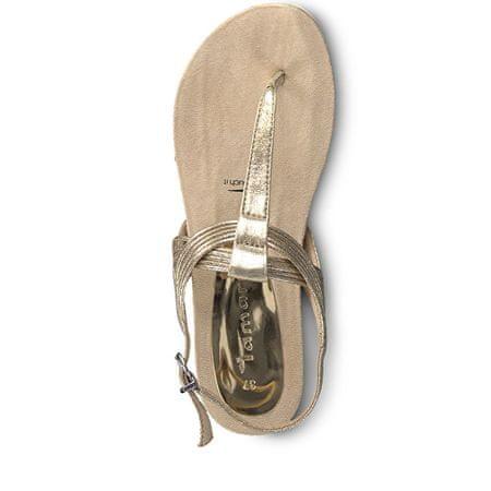 604921ba6eed Tamaris Dámské sandále 1-1-28107-22-952 Rose Metallic (Velikost 37 ...