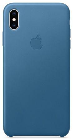 Apple kožna maskica za iPhone XS Max, plavo siva MTEW2ZM/A