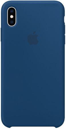 Apple etui silikonowe iPhone XS Max, niebieski MTFE2ZM/A