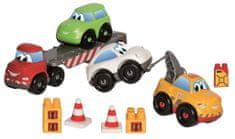 ECOIFFIER transporter Abrick + 3 samochody