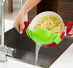 InnovaGoods silikonski odcejalnik Kitchen Foodies