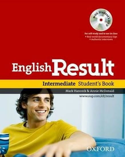 Hancock Mark, McDonald Annie: English Result Intermediate Student´s Book + DVD Pack